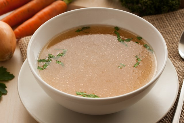 Bone Broth in a Bowl